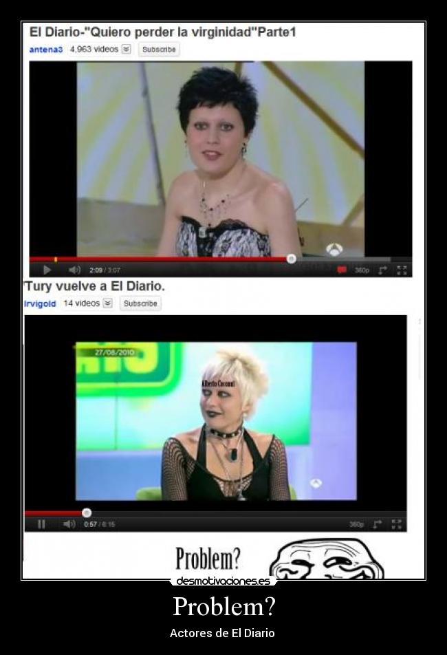 carteles television fake mentira mujer chicas diario troll problem desmotivaciones