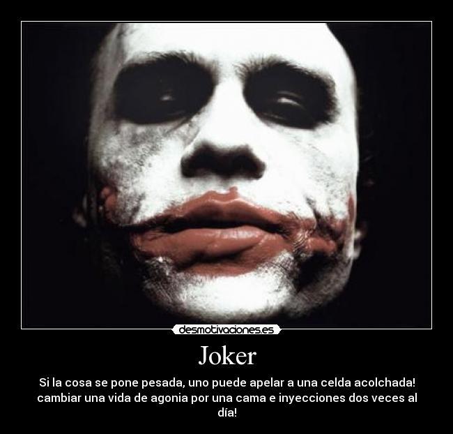 carteles joker guason desmotivaciones