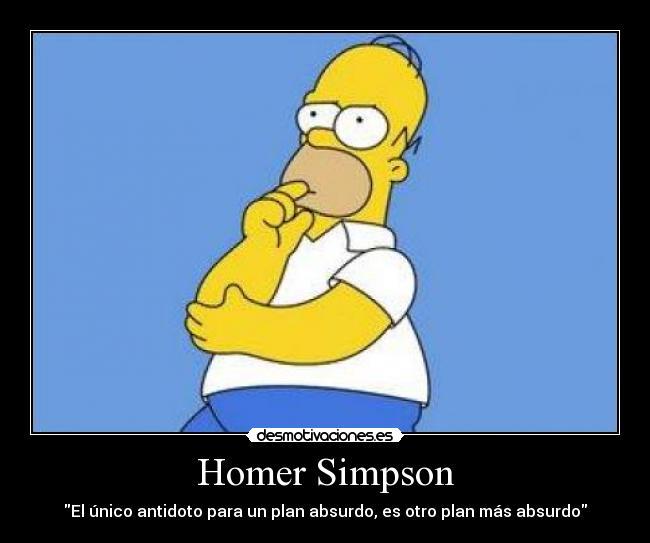 Homer Simpson | Desmotivaciones