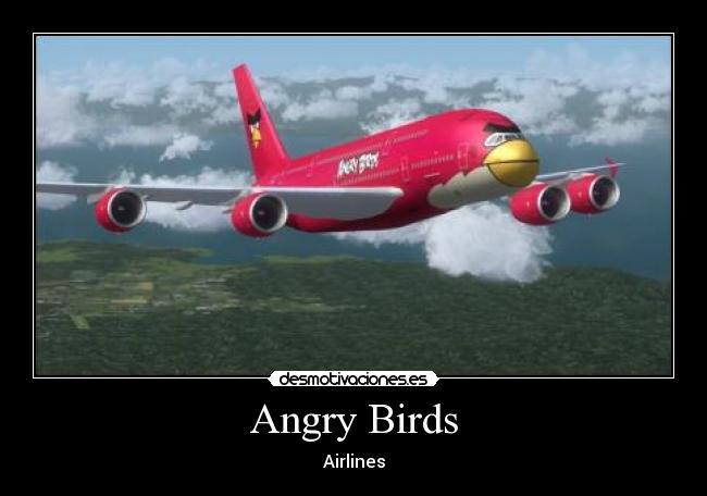 Angry Birds - Airlines