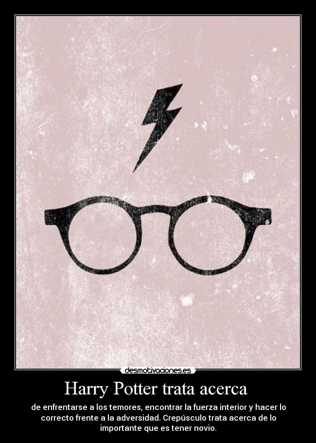 carteles harry potter until the very end desmotivaciones