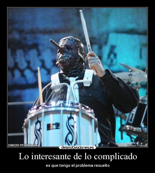 carteles chris fehn slipknot spit out desmotivaciones