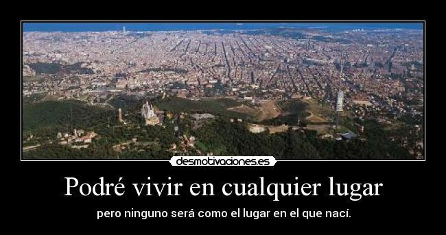 carteles barcelona vivir ciudad desmotivaciones
