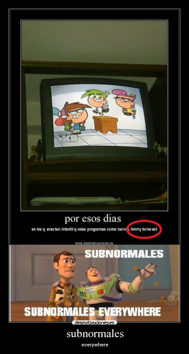 subnormales - everywhere