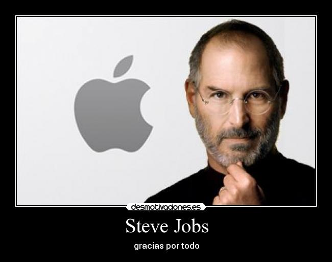 carteles steve jobs apple renuncia desmotivaciones