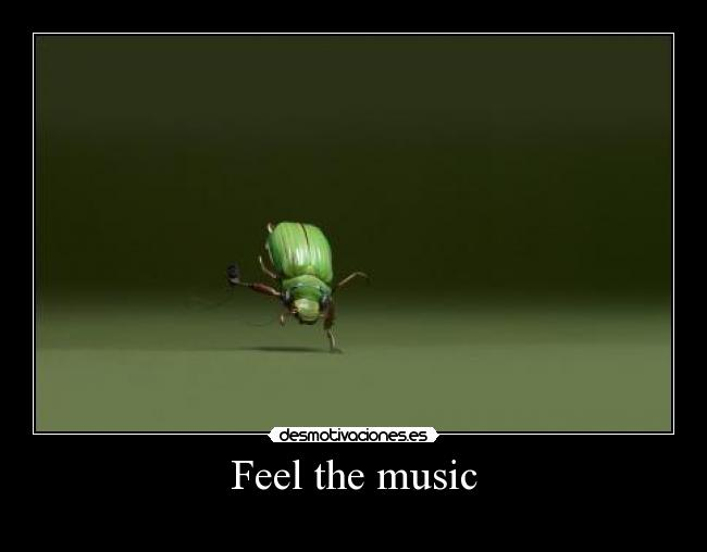 Feel the music -
