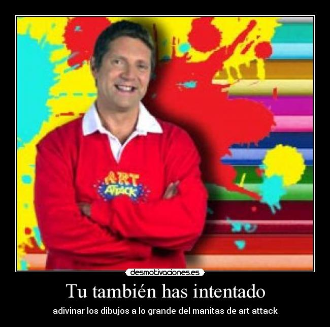 Art Attack Neil Buchanan