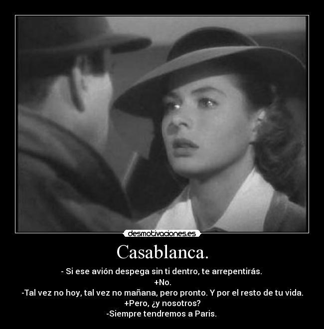 Resultado de imagen de Frases de Bogart