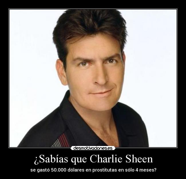 charlie sheen prostitutas follando prostitutas