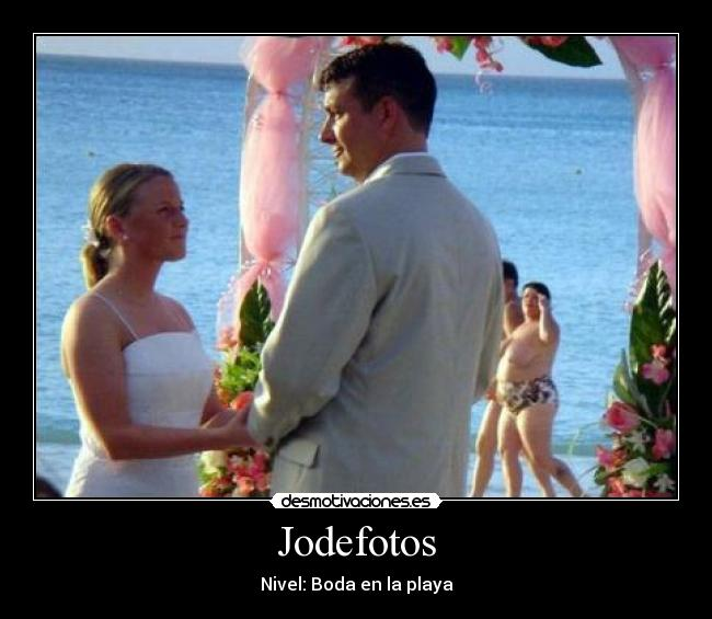 Jodefotos - Nivel: Boda en la playa