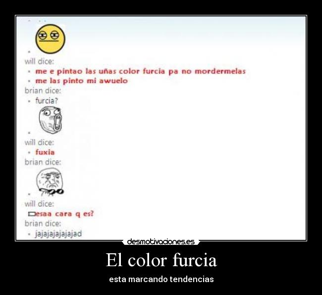 El color furcia - esta marcando tendencias