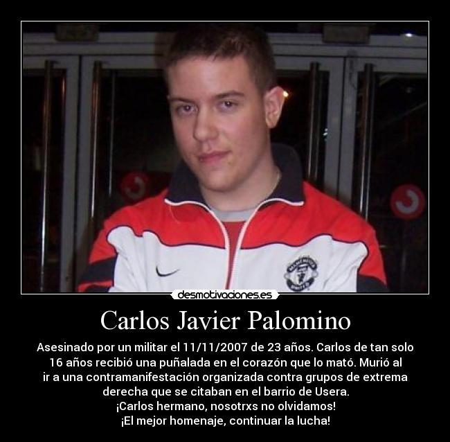 Carlos Palomino Carteles Carlos Palomino