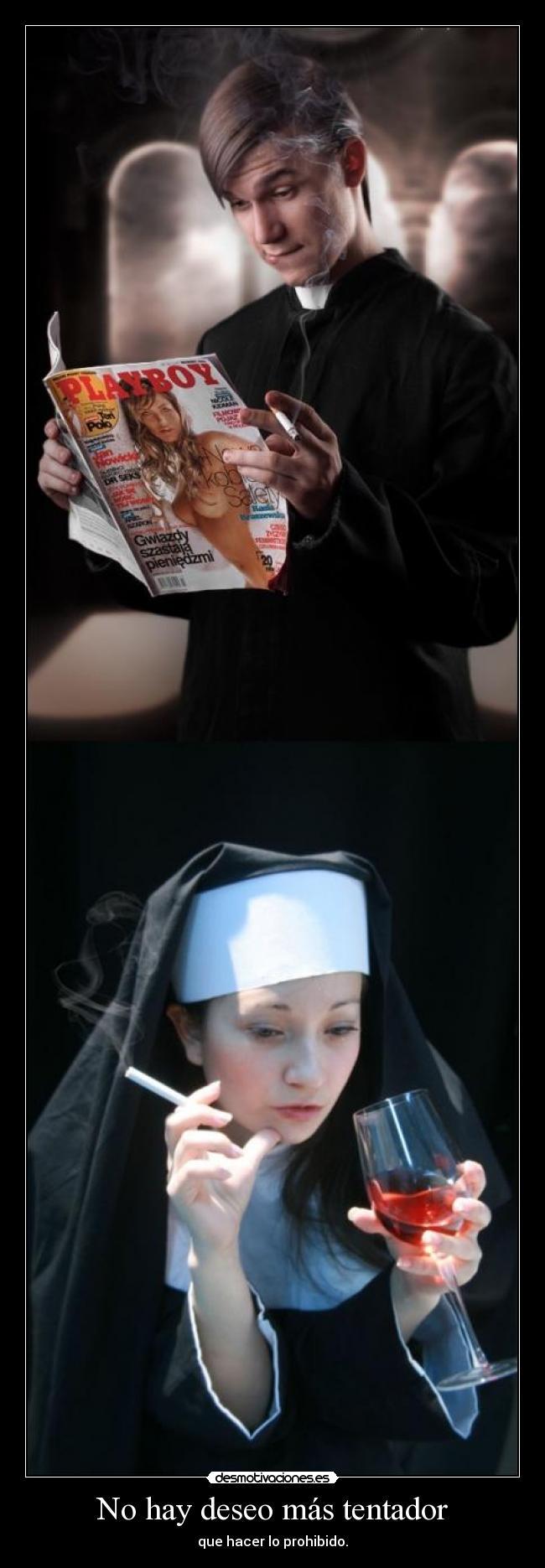 carteles descripcion dicha hasta saciedad pero las fotos son graciosas tentacion prohibido deseo desmotivaciones