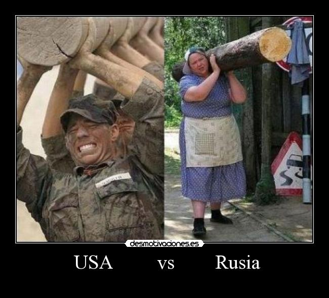 USA         vs        Rusia -