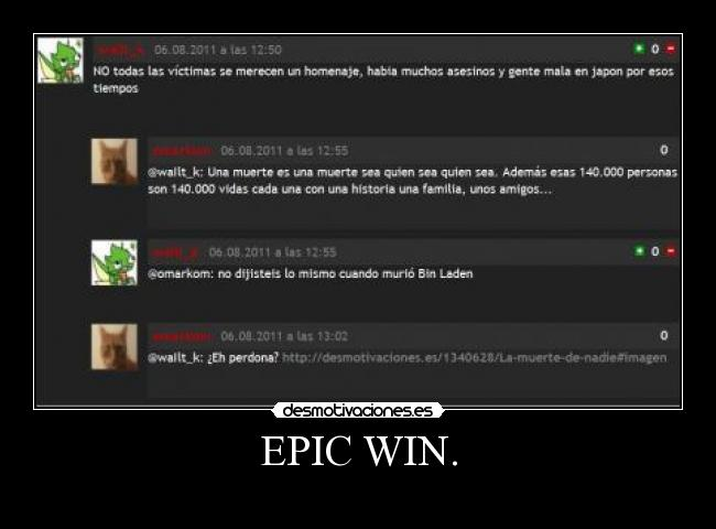 EPIC WIN. -