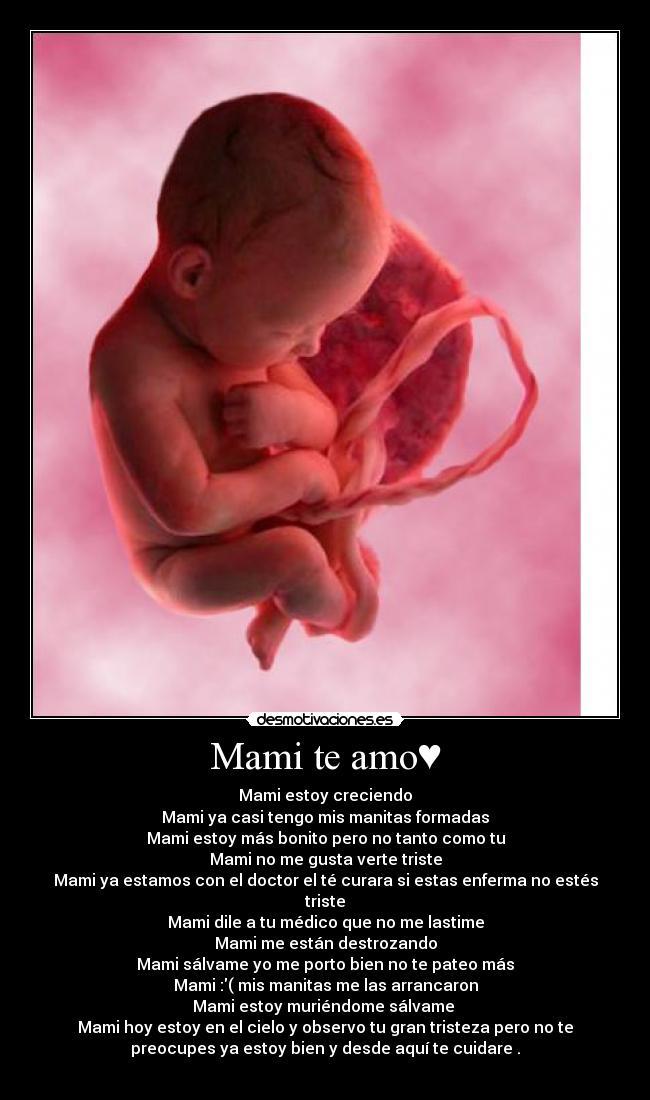 Mami te amo♥ | Desmotivaciones: desmotivaciones.es/2565058/Mami-te-amo