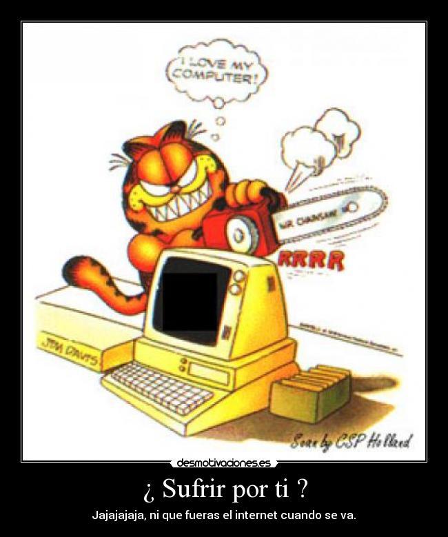 Garfield Desmotivaciones