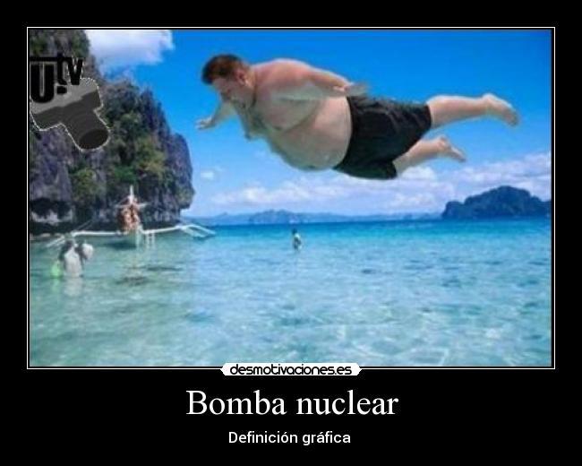 Bomba nuclear definicion corta