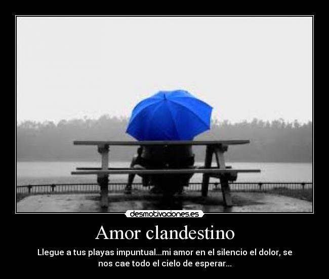 Amor Clandestino Desmotivaciones
