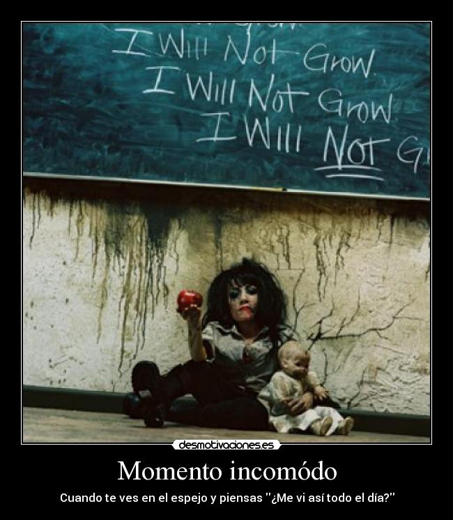 carteles the awkward moment desmotivaciones