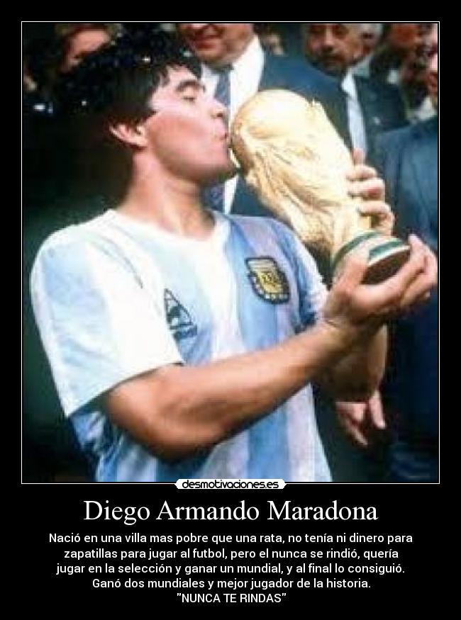 Maradona Desmotivaciones [Megapost]