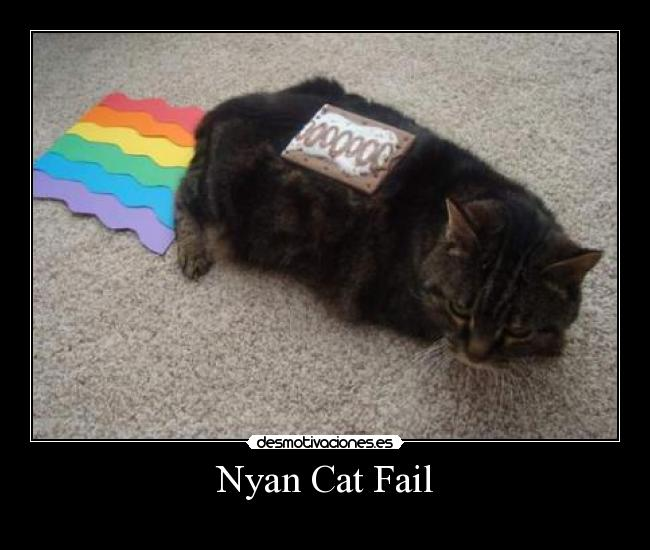 Nyan Cat Fail -