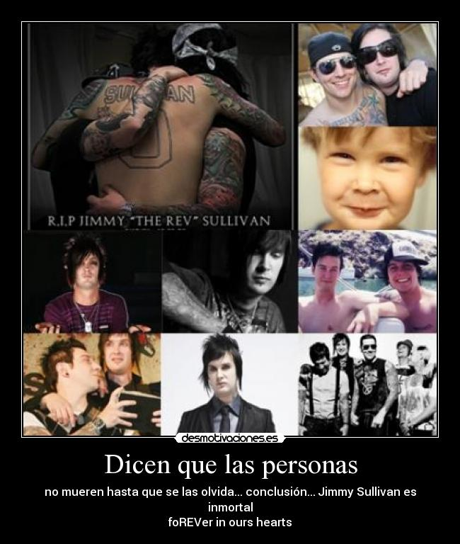 carteles jimmy sullivan the rev inmortal desmotivaciones
