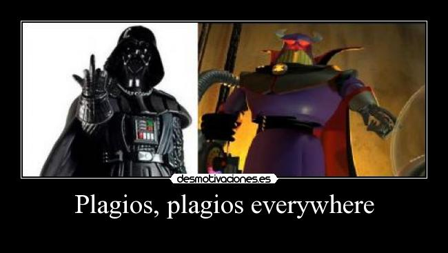 Plagios, plagios everywhere -
