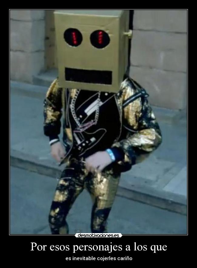 Carteles Robot Lmfao Party Rock Anthem Desmotivaciones