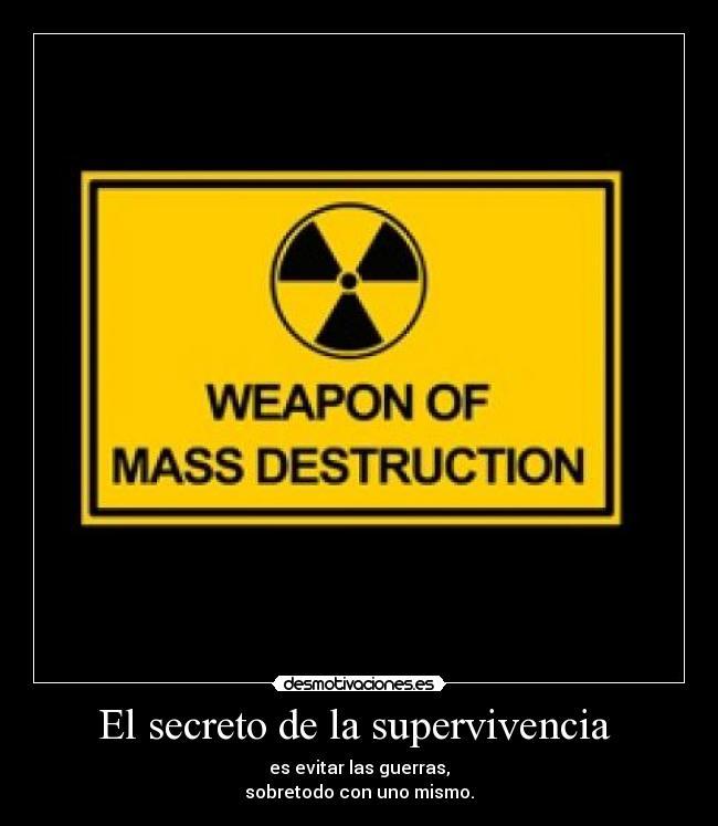 mass destruction essay
