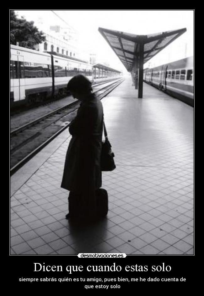 carteles soledad desmotivaciones