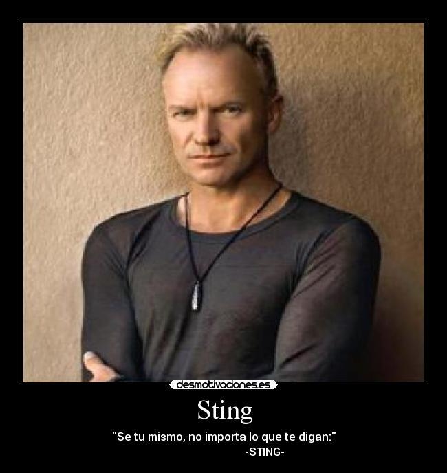 frases de sting