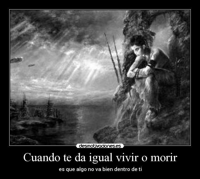 vivir es morir: