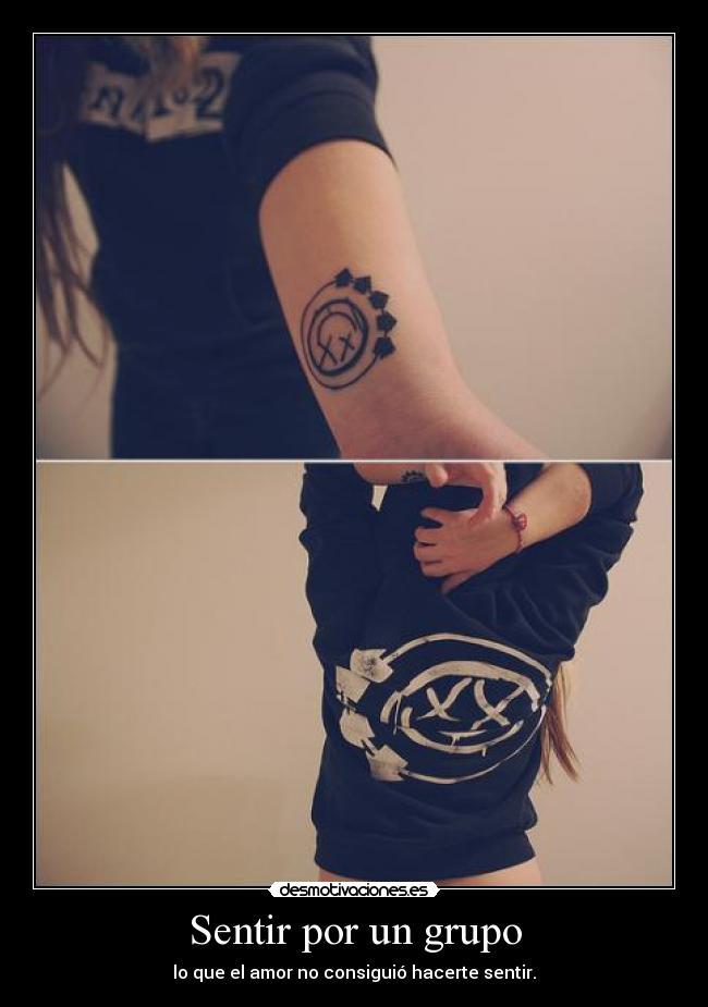 carteles blink182 tatuaje desmotivaciones