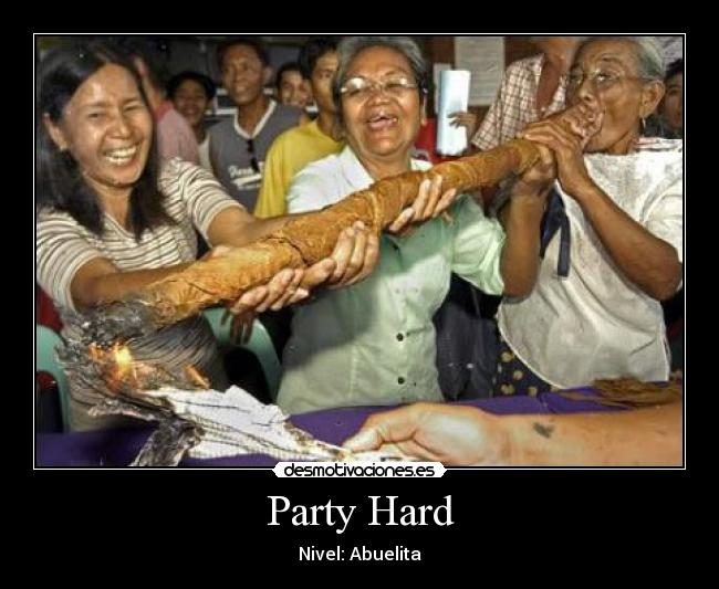 Party Hard - Nivel: Abuelita