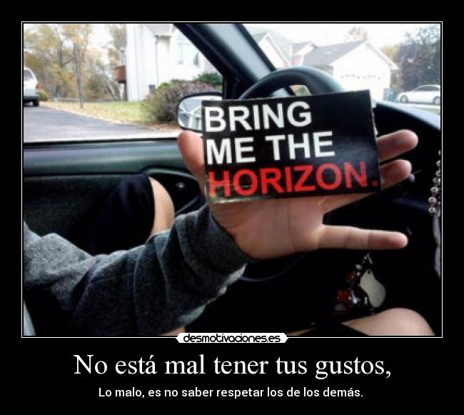 carteles a7x nirvana metallica bring the horizon never shout never aww desmotivaciones