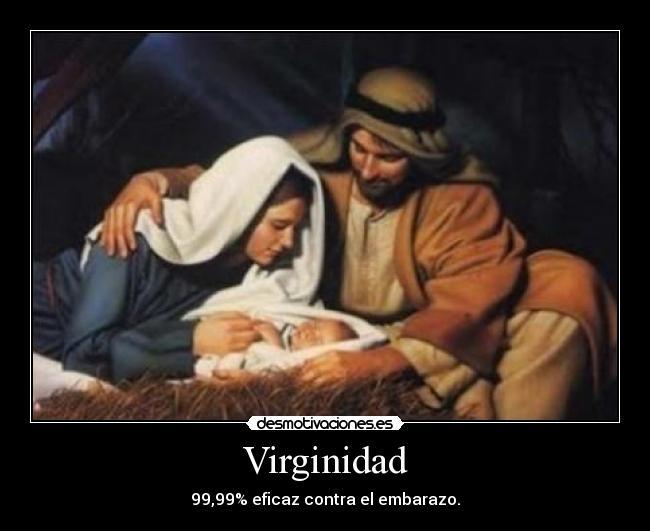 carteles virginidad nino jesus embarazo desmotivaciones