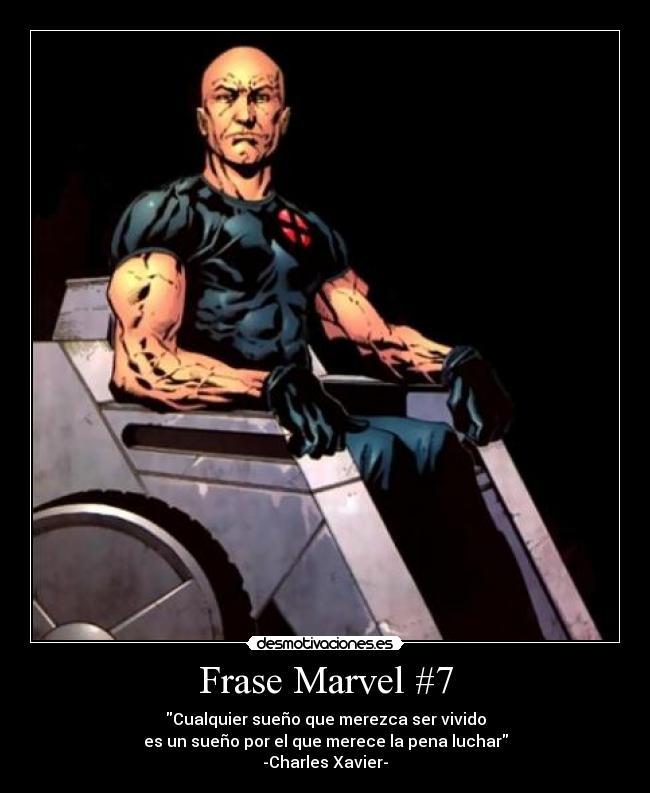 Frase Marvel 7 Desmotivaciones
