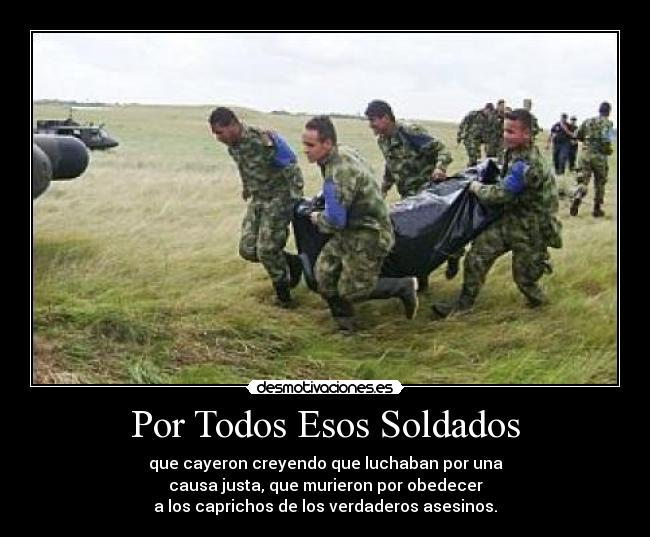 Por Todos Esos Soldados