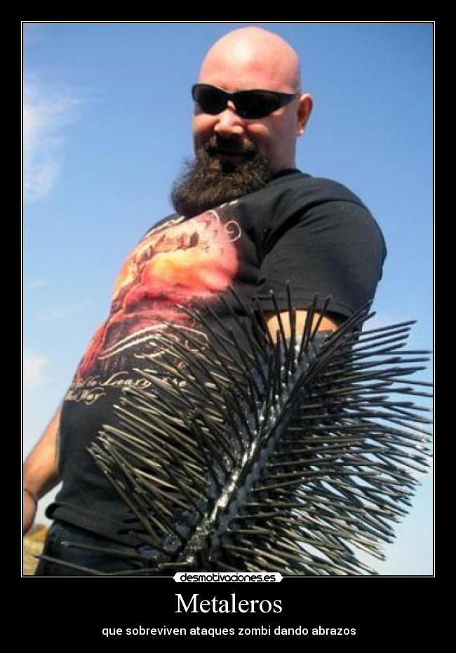 carteles kerry king slayer abrazos gratis desmotivacionesKerry King Meme