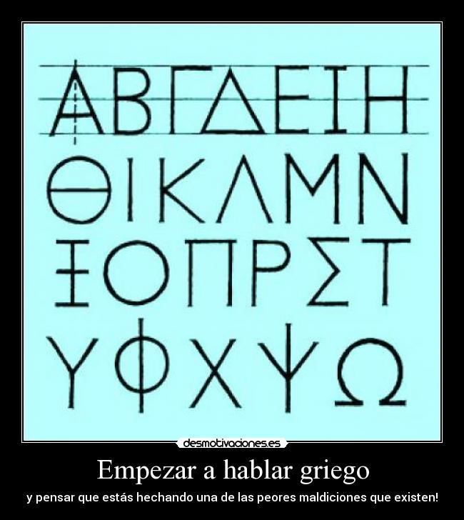 carteles griego