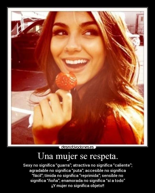 Una-mujer-se-respeta.