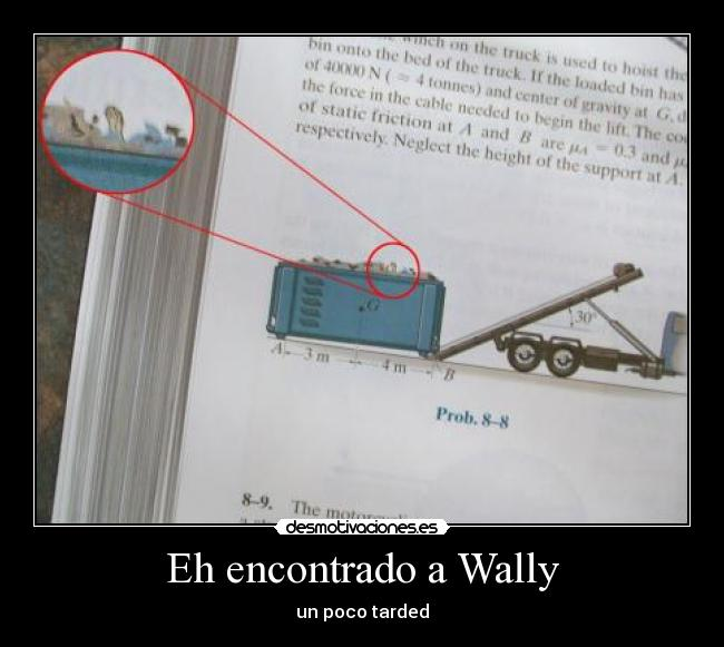 Eh encontrado a Wally - un poco tarded