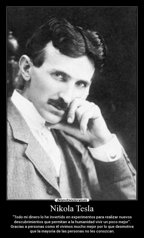 Nikola Tesla Desmotivaciones