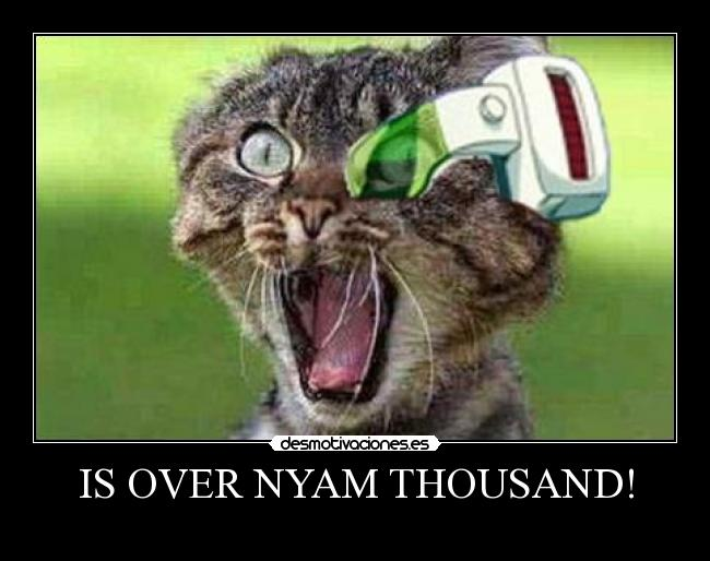 IS OVER NYAM THOUSAND! -