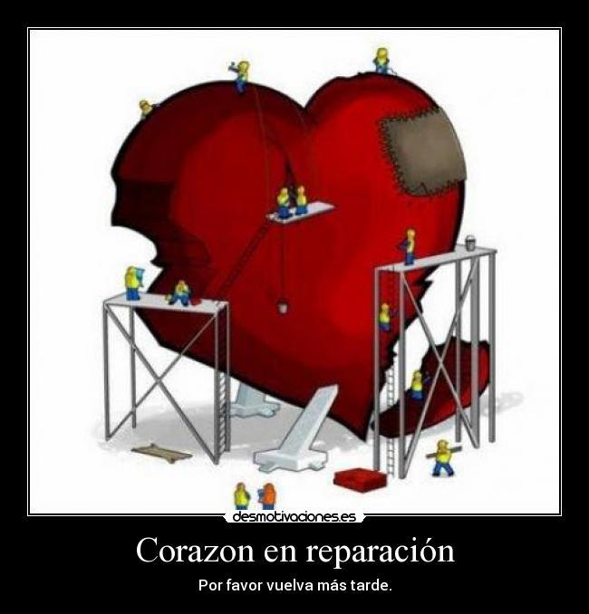corazon en reparaci n desmotivaciones