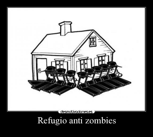 Refugio anti zombies -