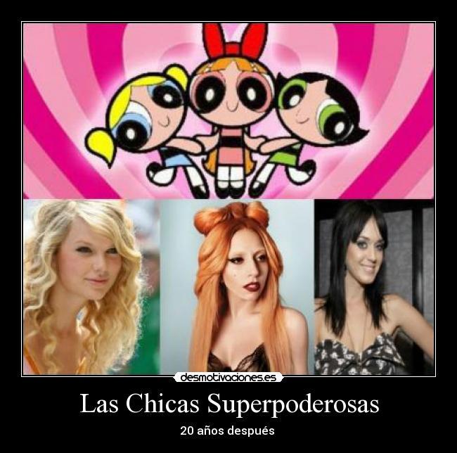 Las Chicas Superpoderosas Desmotivaciones