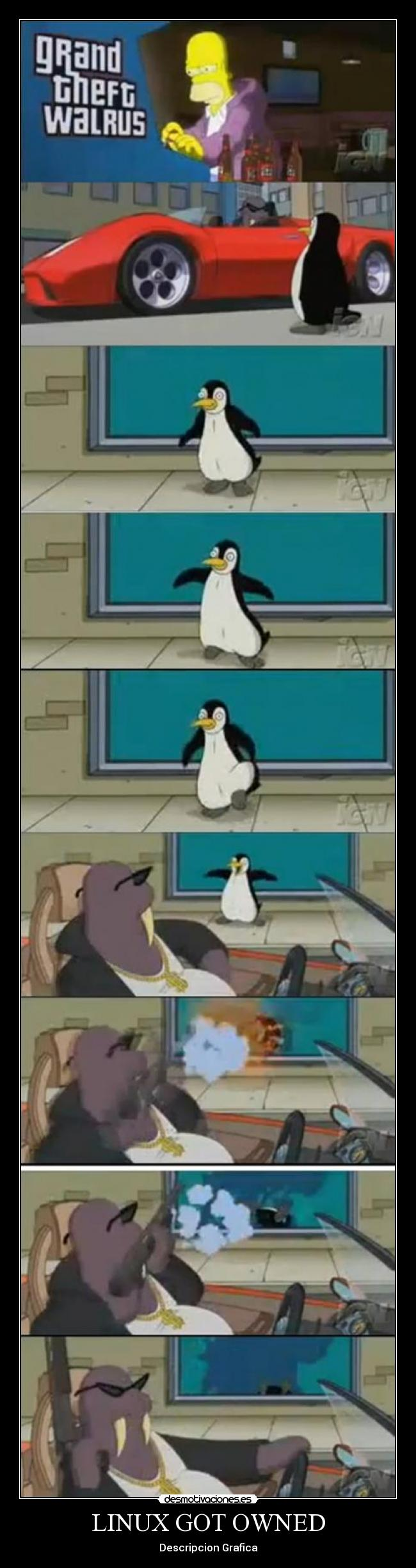 LINUX GOT OWNED - Descripcion Grafica