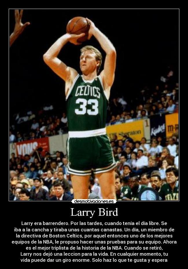 carteles larry bird desmotivaciones